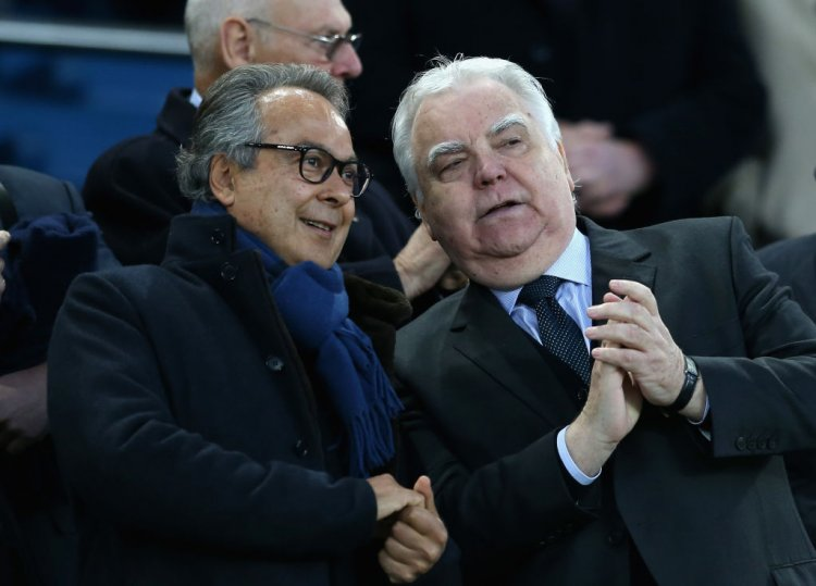 Farhad Moshiri and Bill Kenwright