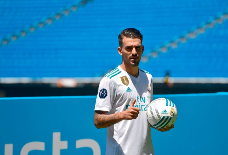Real Madrid Midfielder Dani Ceballos