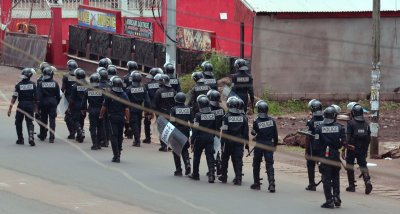 English Cameroon protests