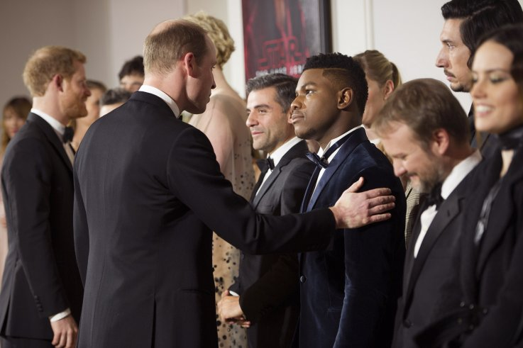 John Boyega Prince William Star Wars Albert