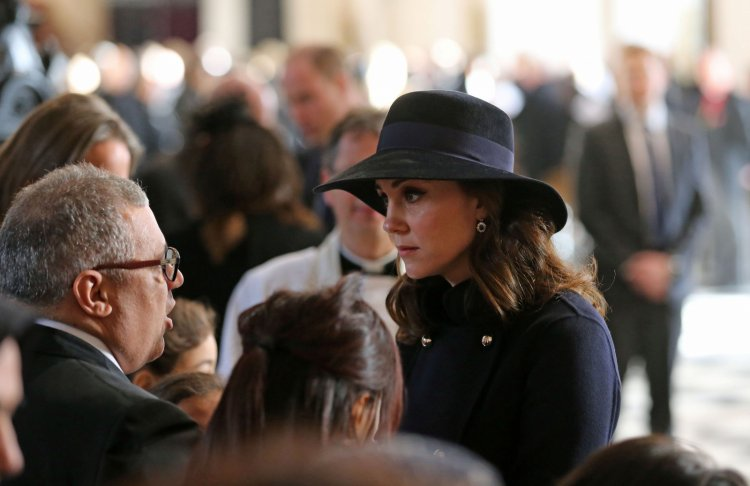 Kate Middleton St Paul's Grenfell