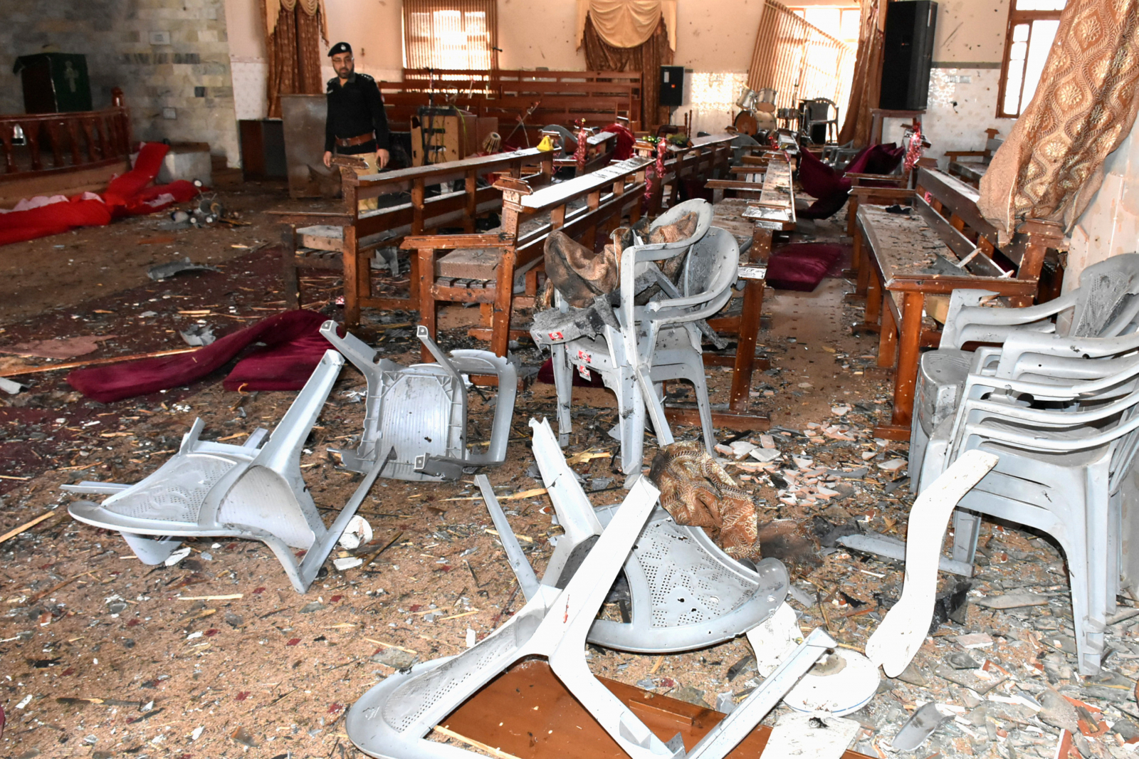 Quetta church attack