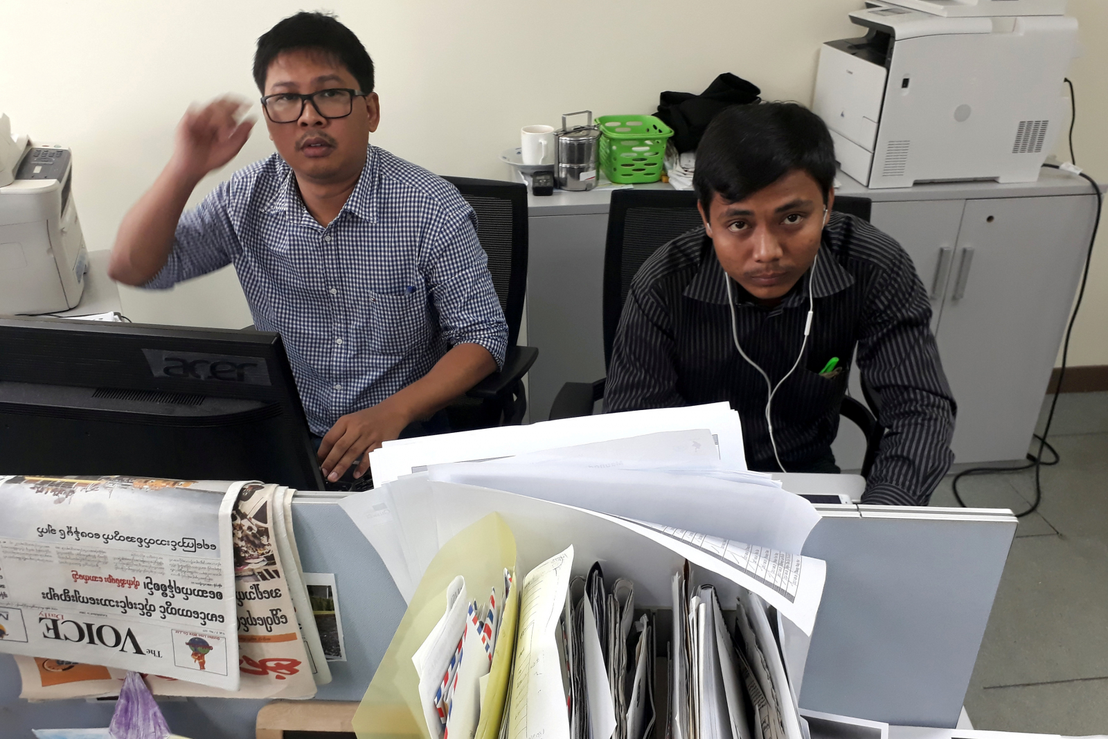Reuters journalists Myanmar