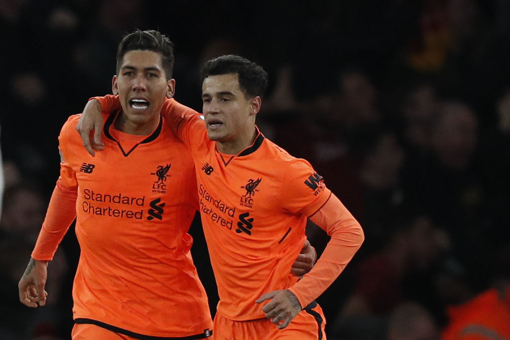 Firmino and Coutinho
