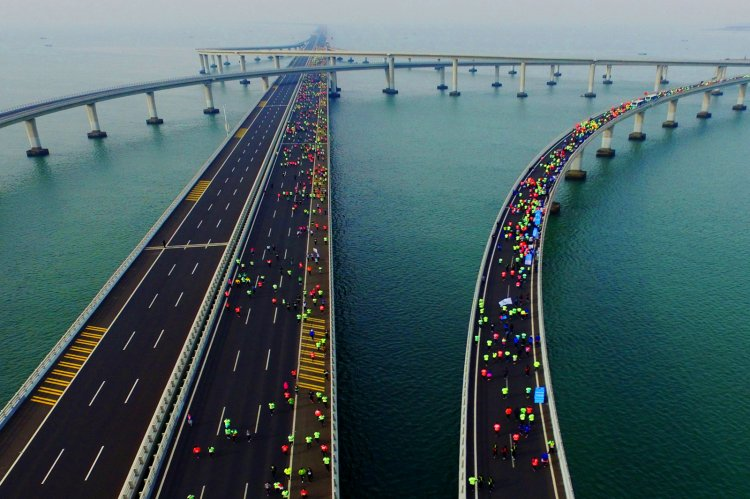 Jiaozhou Bay Bridge China