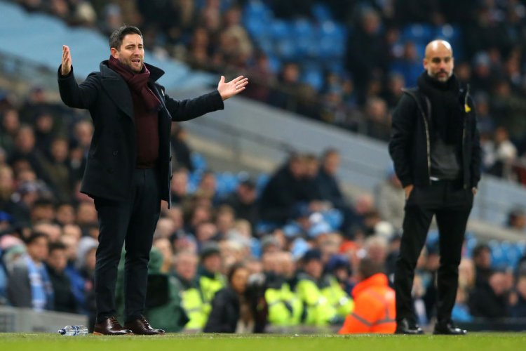 Lee Johnson and Pep Guardiola