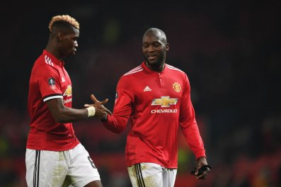 Paul Pogba and Romelu Lukaku