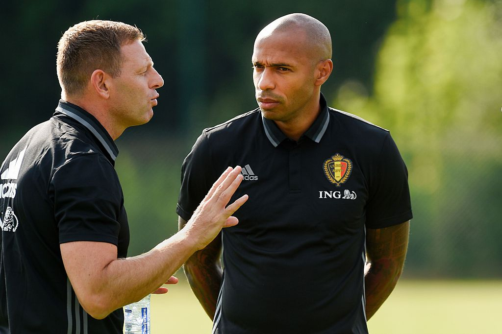 Belgium Coach Thierry Henry