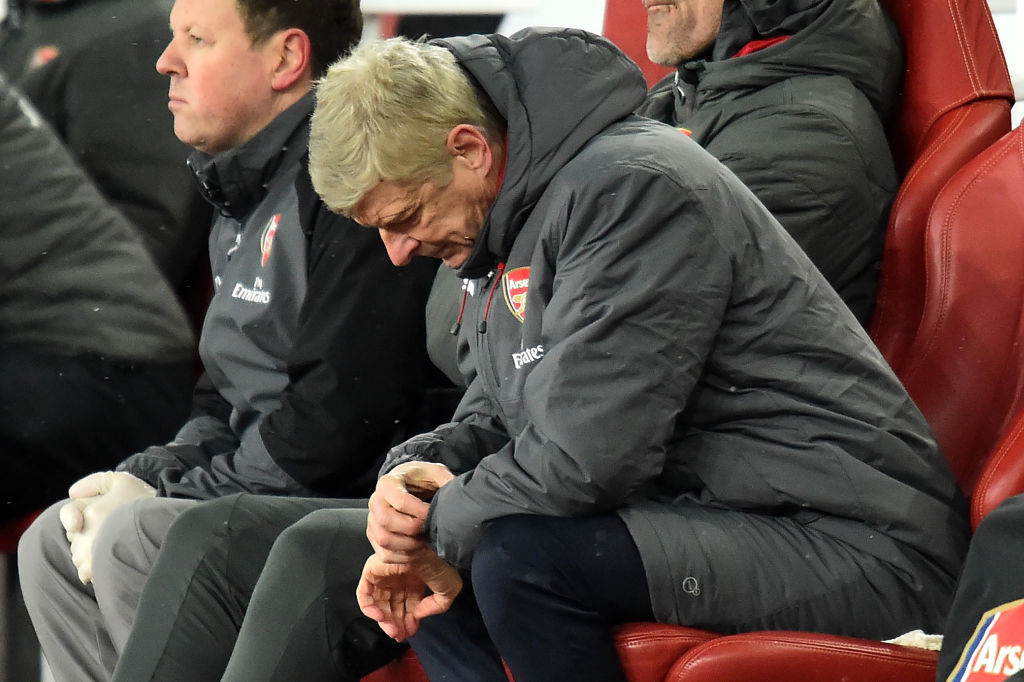 Time Running Out For Wenger