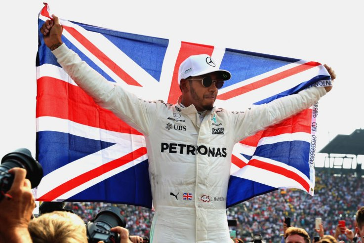 Hamilton Secured Victory in Mexico
