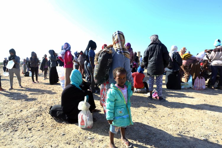 Migrants in Libya