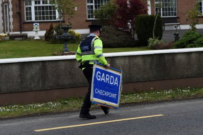 Irish Border Checkpoints