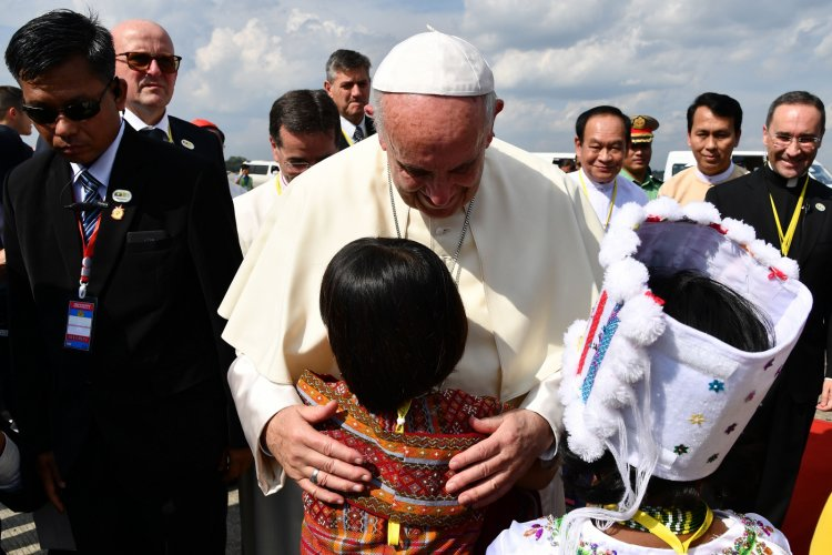 Pope Francis in Myanmar