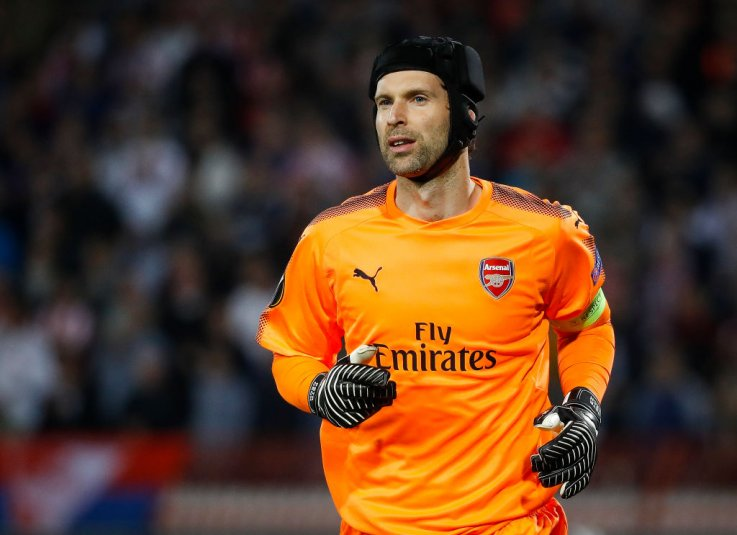 Arsenal Goalkeeper Petr Cech