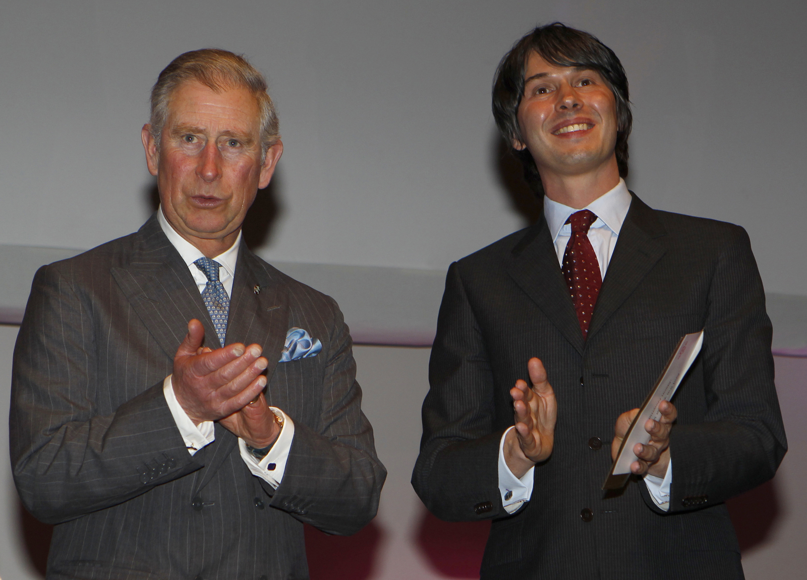 Brian Cox Prince Charles