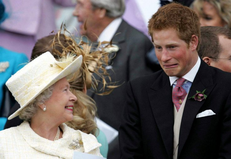 Prince Harry Queen Elizabeth